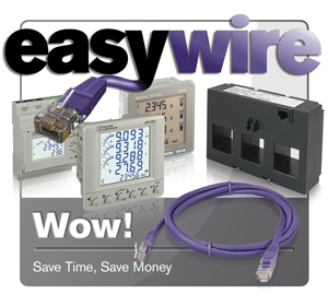 Easywire current transformers and energy meters saving you time and money.
