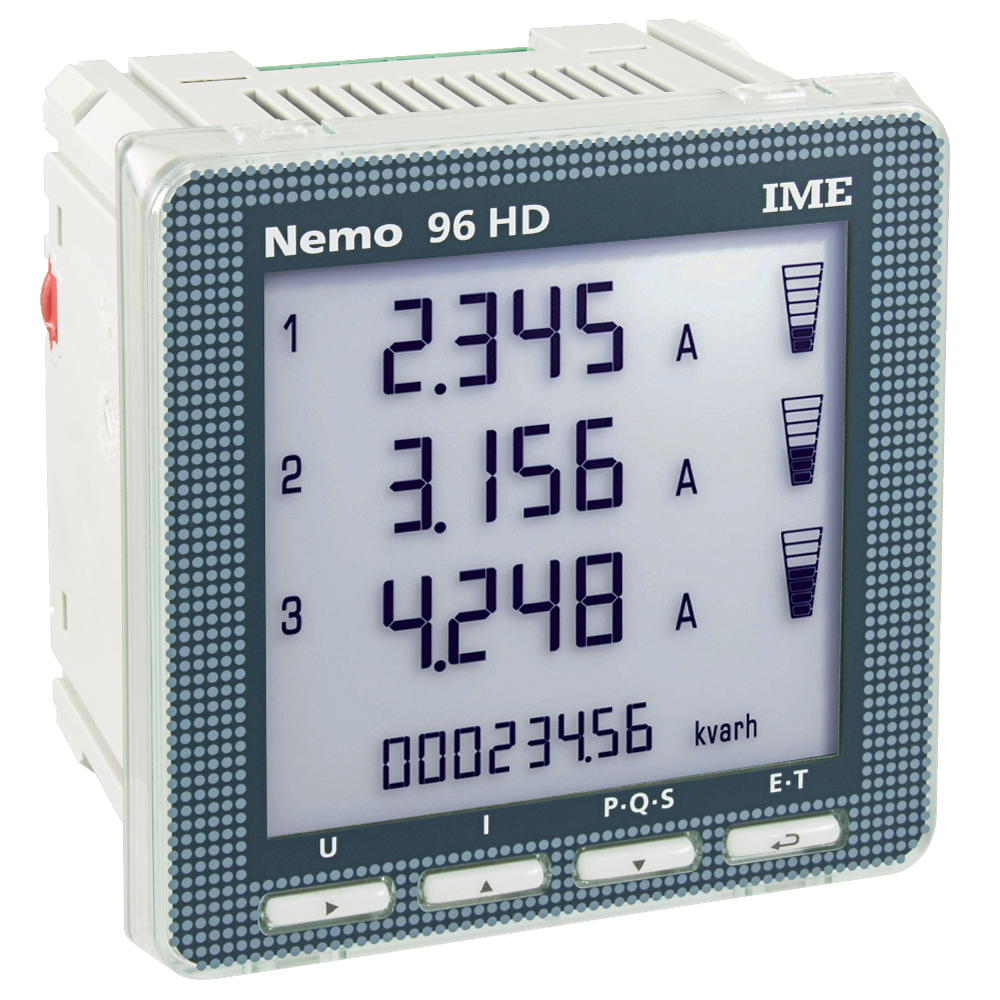 IME Nemo 96 HD Panel Mounted Single & Three Phase Network 0.5 ...