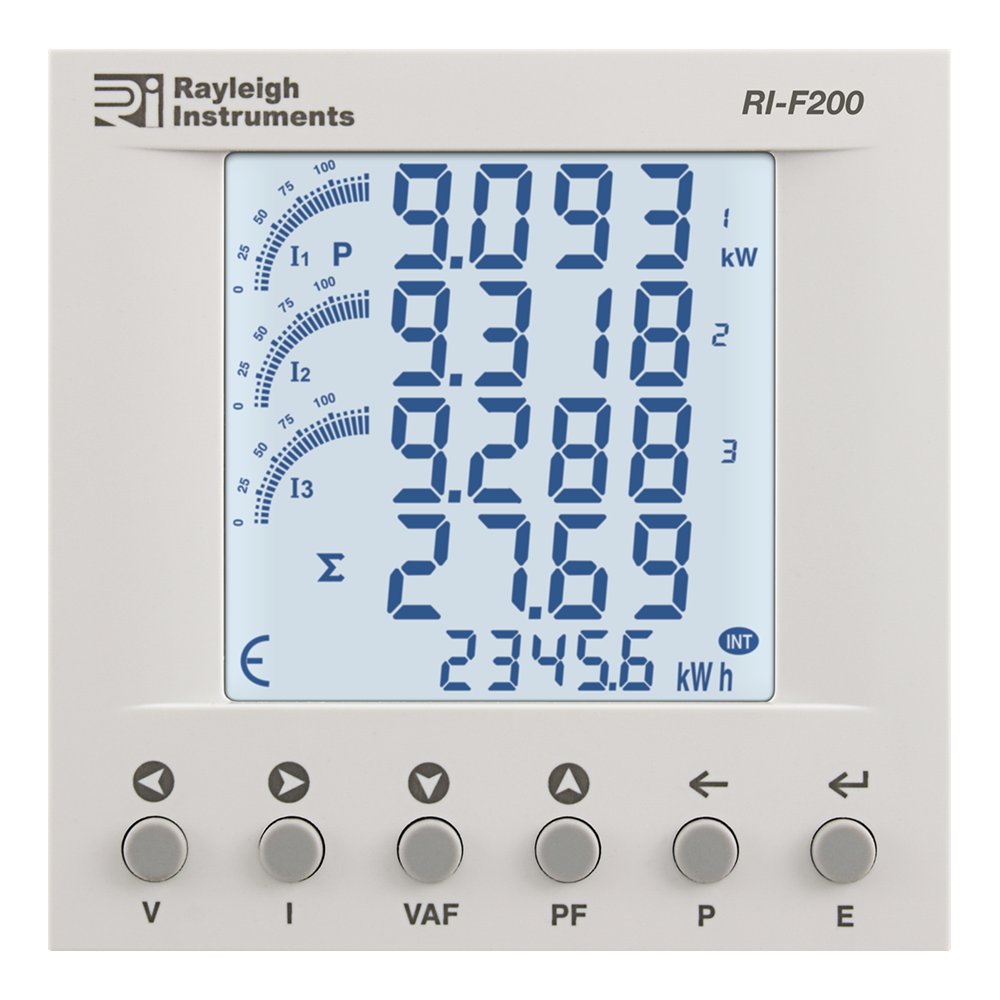 Rayleigh Instruments RI-F200 Series Single Phase and Three Phase ...