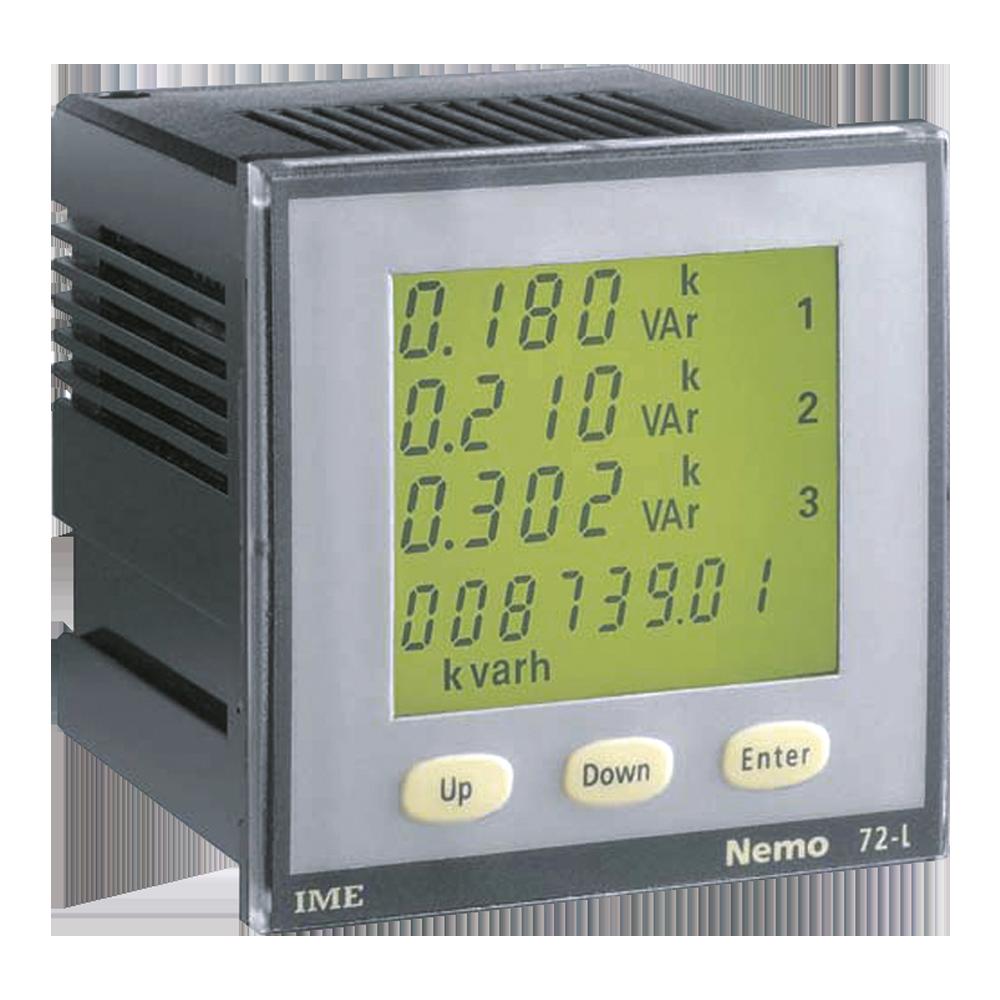 3 Phase Power Meter Shark : Ime nemo l panel mounted multi function meter single