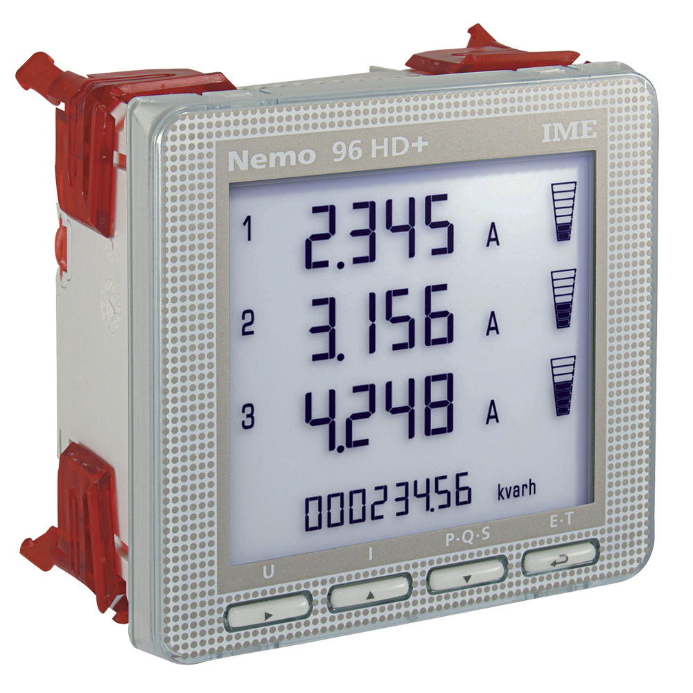 Digital Power Meter With Bms : Ime nemo hd panel mounted single three phase network