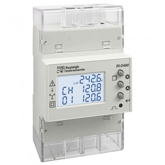 Rayleigh Instruments RI-D480 'Quad' - 4 Input easywire Multifunction Meter