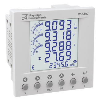 Rayleigh Instruments RI-F400 easywire Multifunction Meter