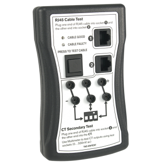 TAS-EWTEST - CT Output and RJ45 Lead Tester (EasyWire)