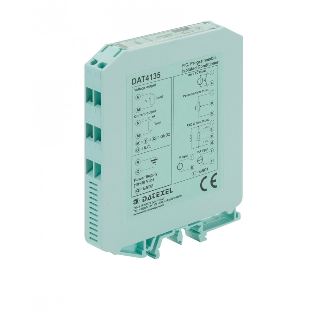 Datexel Dat 4135 Pc Programmable Isolated Universal Signal
