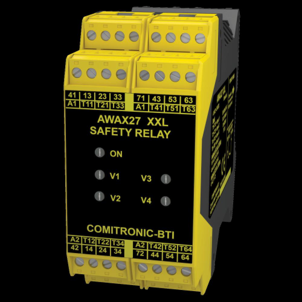Comitronic BTI AWAX 27XXL Emergency Stop Safety Relay