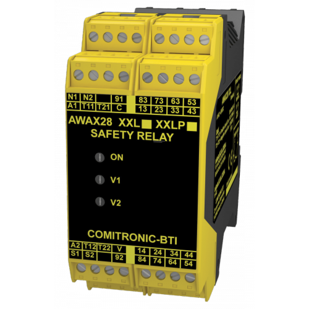 Comitronic-BTI AWAX28XXL 8NO+1NF CAT.4 Safety Relay