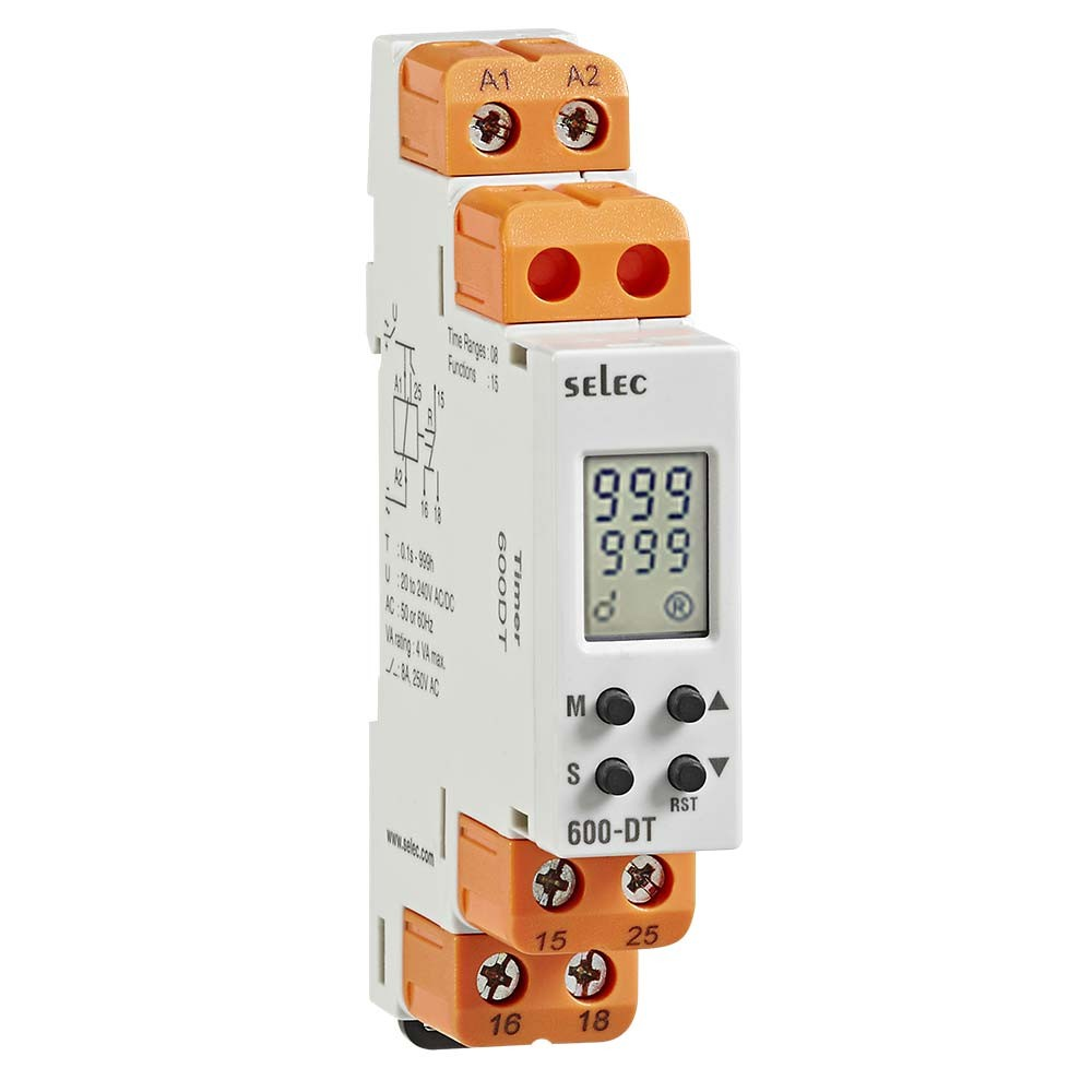 Selec 600DT Digital Multifunction Timer
