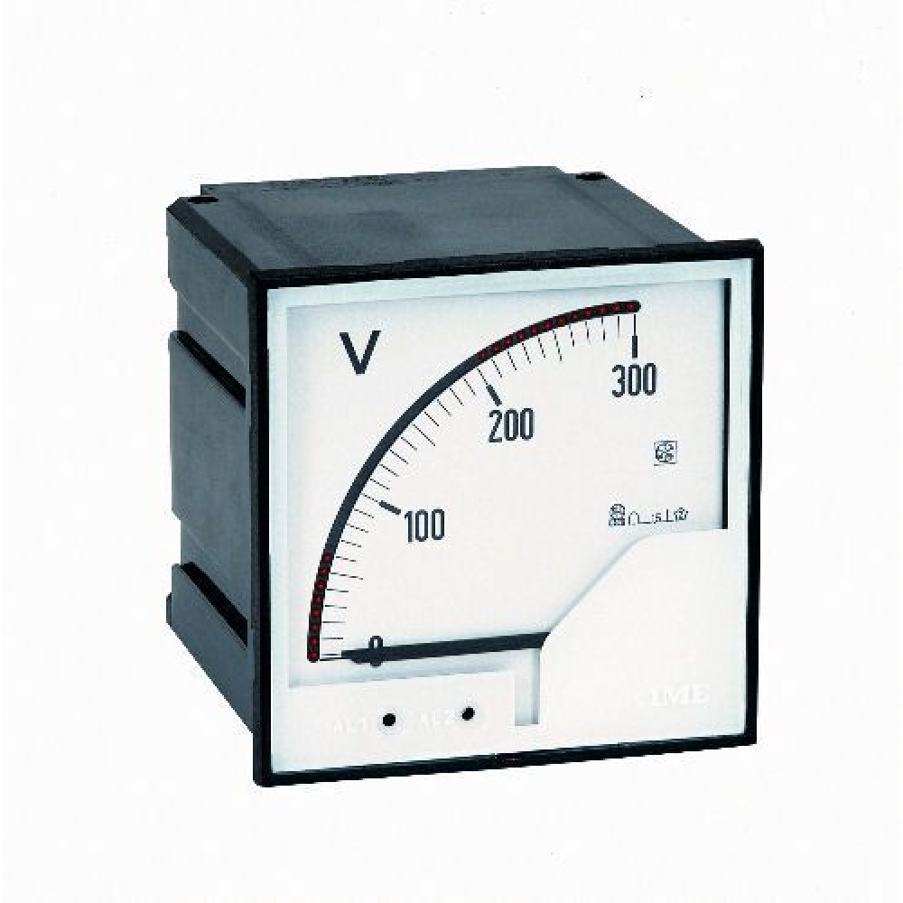 IME ANT4 AL96AC Analogue Meters with Alarms for Alternating Voltage 96x96mm