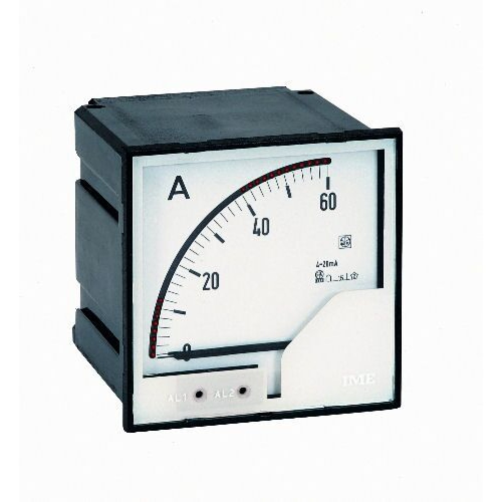 IME ANT3 AL96DC Analogue Meters with Alarms for Direct Current 96x96mm