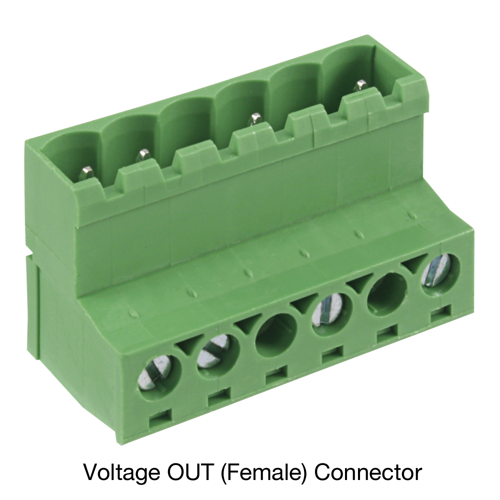 Supply Voltage Connector Plug Female