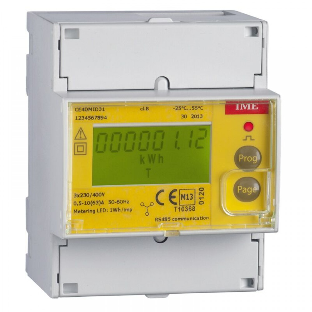 IME Conto D4-Pd MID Approved Three Phase Network Multi Function Meter Direct Connected