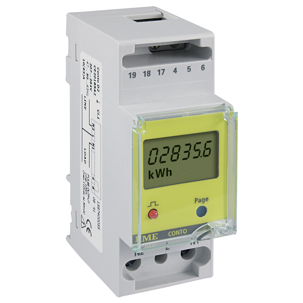 Conto D2 - energy meter