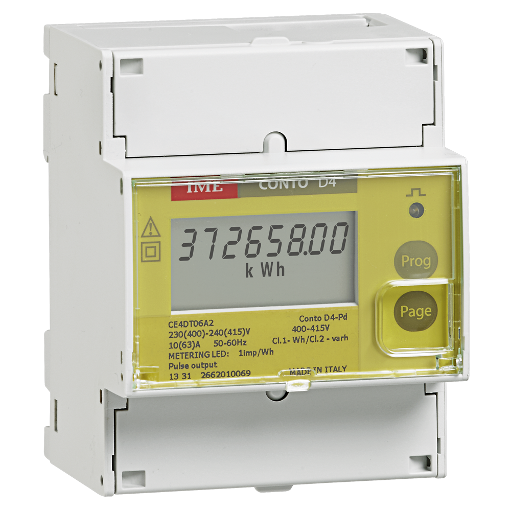 Conto D4-Pd - energy meter
