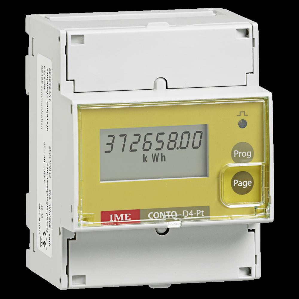 Conto D4-Pt - energy meter