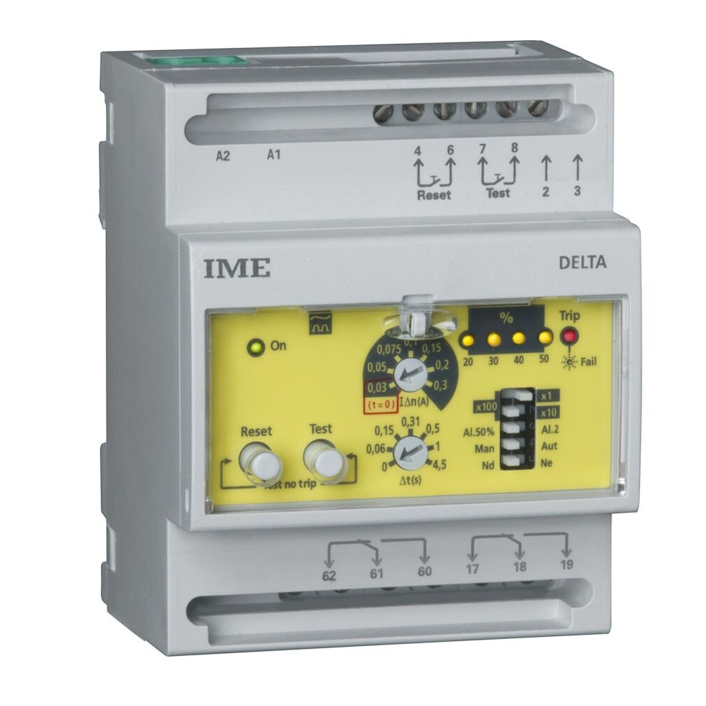 IME Delta D4-S RD1B Four Module Earth Leakage Relay