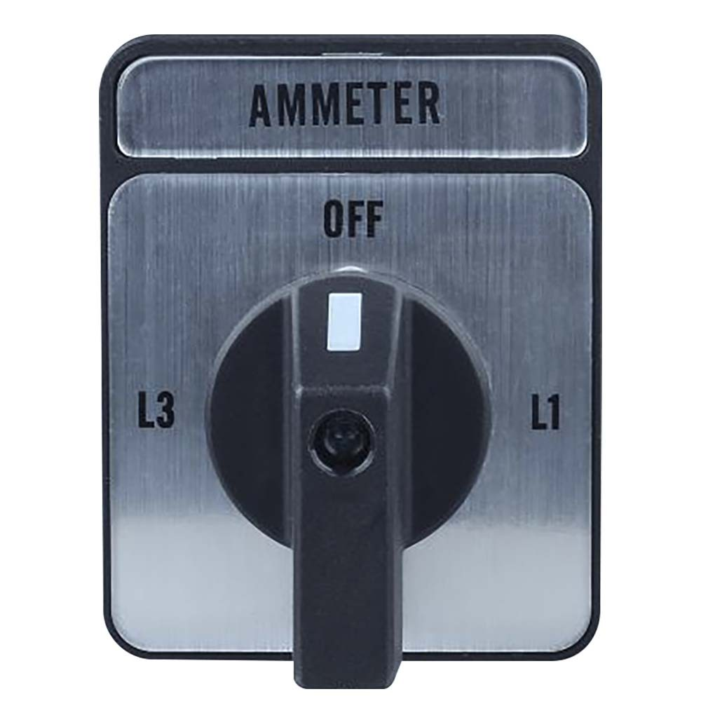 LH3/3 Ammeter Selector Switch Front