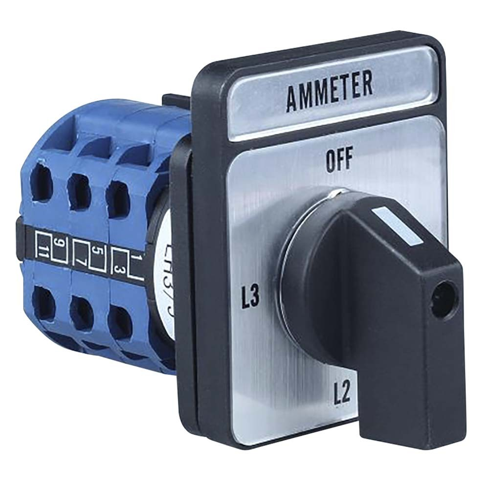 LH3/3 Ammeter Selector Switch