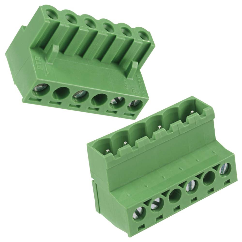 easywire Voltage-In and Voltage-Out Connector Plugs