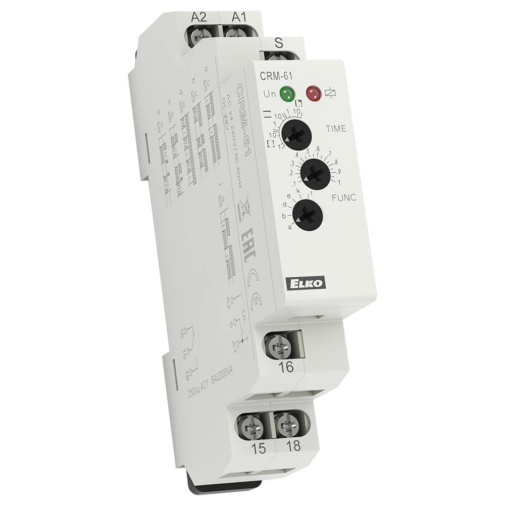 CRM-61 Multifunction Time Relay
