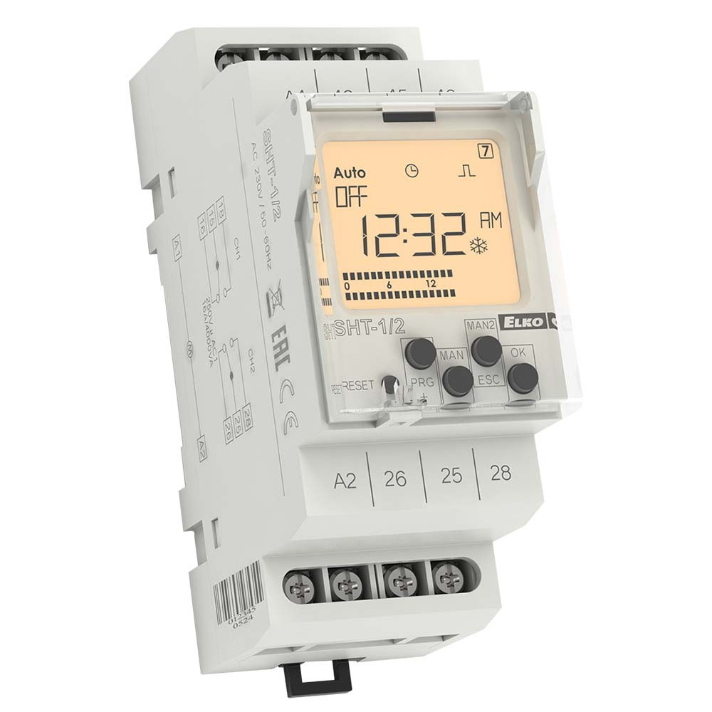 Digital Time Switch type SHT-1/2