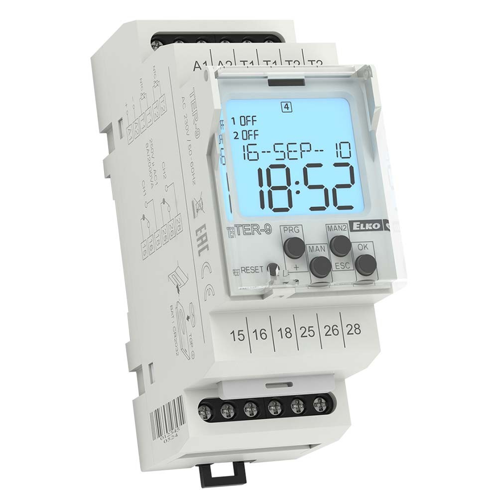 Elko TER-9 Multifunction Digital Thermostat