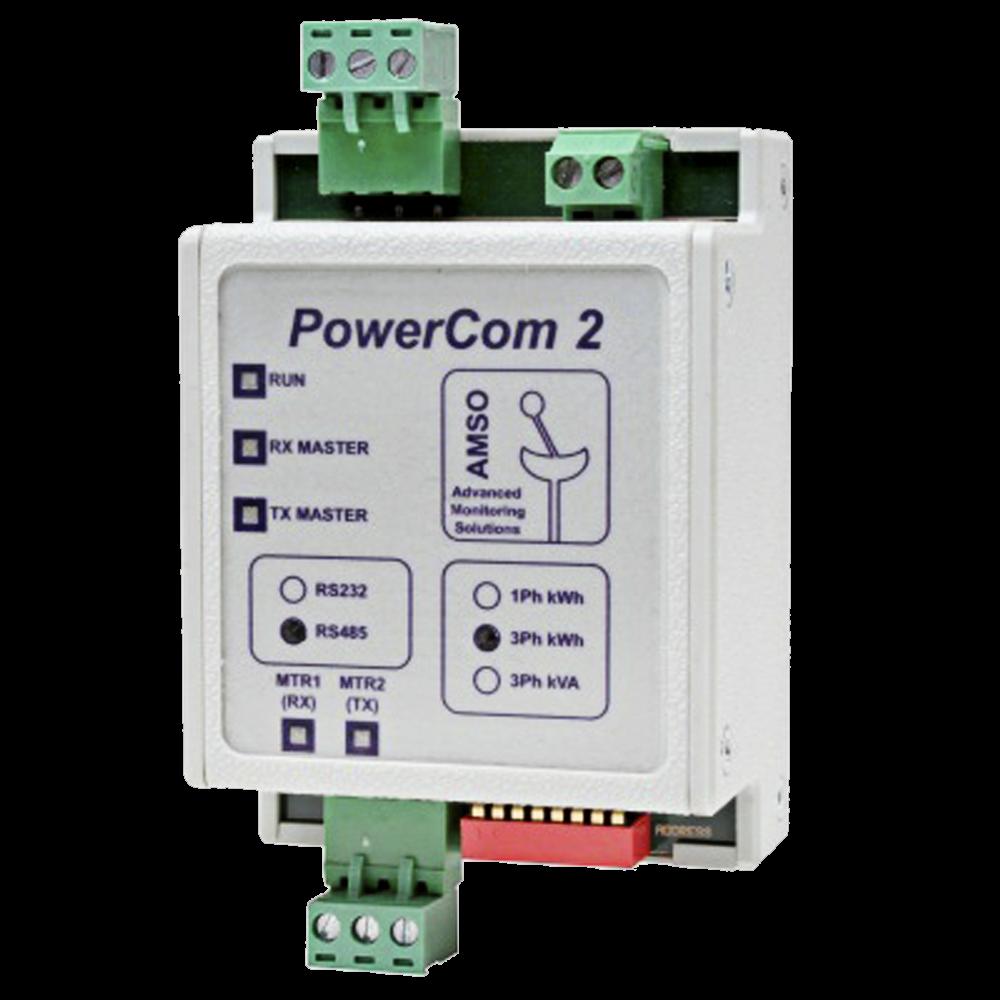 Elster POWERCOM2 A1700 RS485 to Modbus Converter