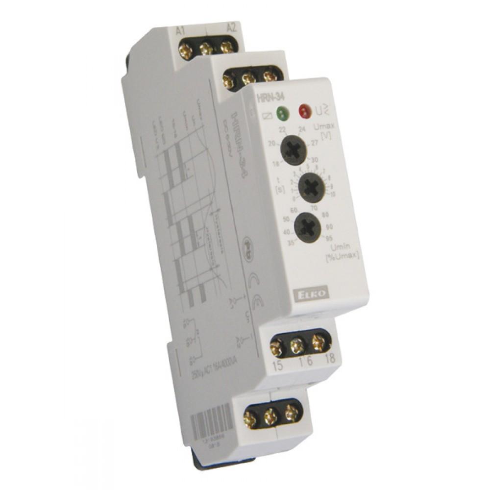 Elko HRN-34 Monitoring Voltage Relay