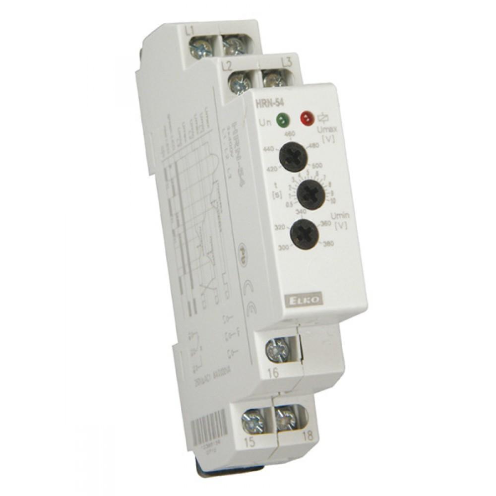 Elko HRN-54 Three Phase Network Monitoring Voltage Relay