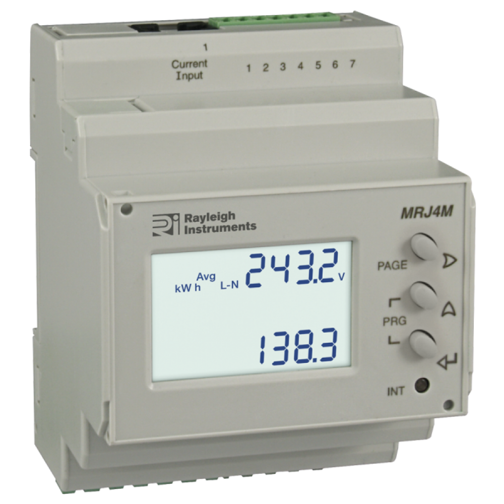 Mrj M Multifunction Din Meter on 4 wire rs485 wiring