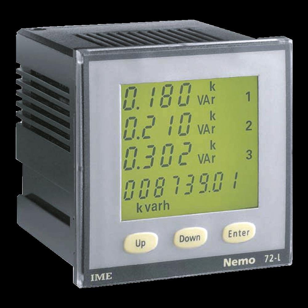 Multifunction Panel Meter : Ime nemo l panel mounted multi function meter single