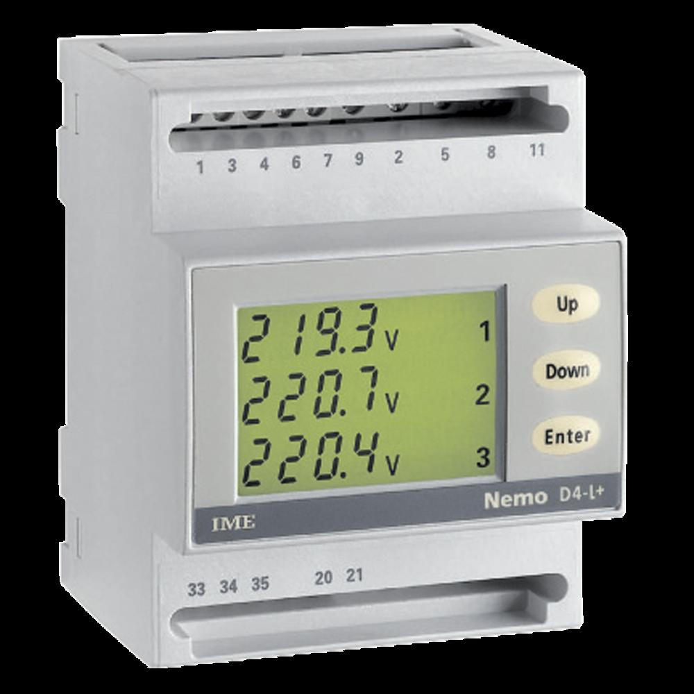 Nemo D4-L+ isolated input energy meter