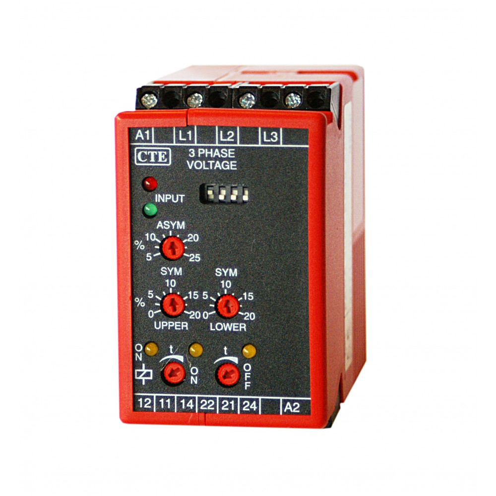 Thiim PADA Three Phase Voltage Control Relay 45mm