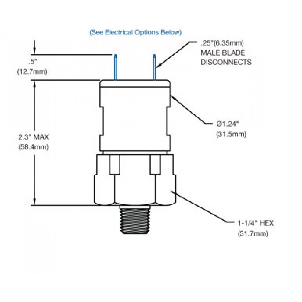 Nason High Pressure Switch CF Diagram