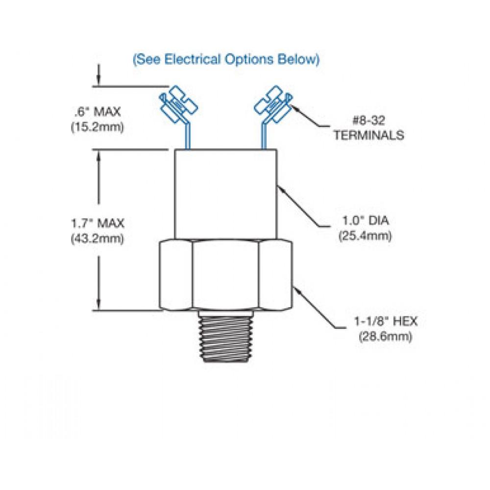 Nason Low Pressure Switch MM Diagram