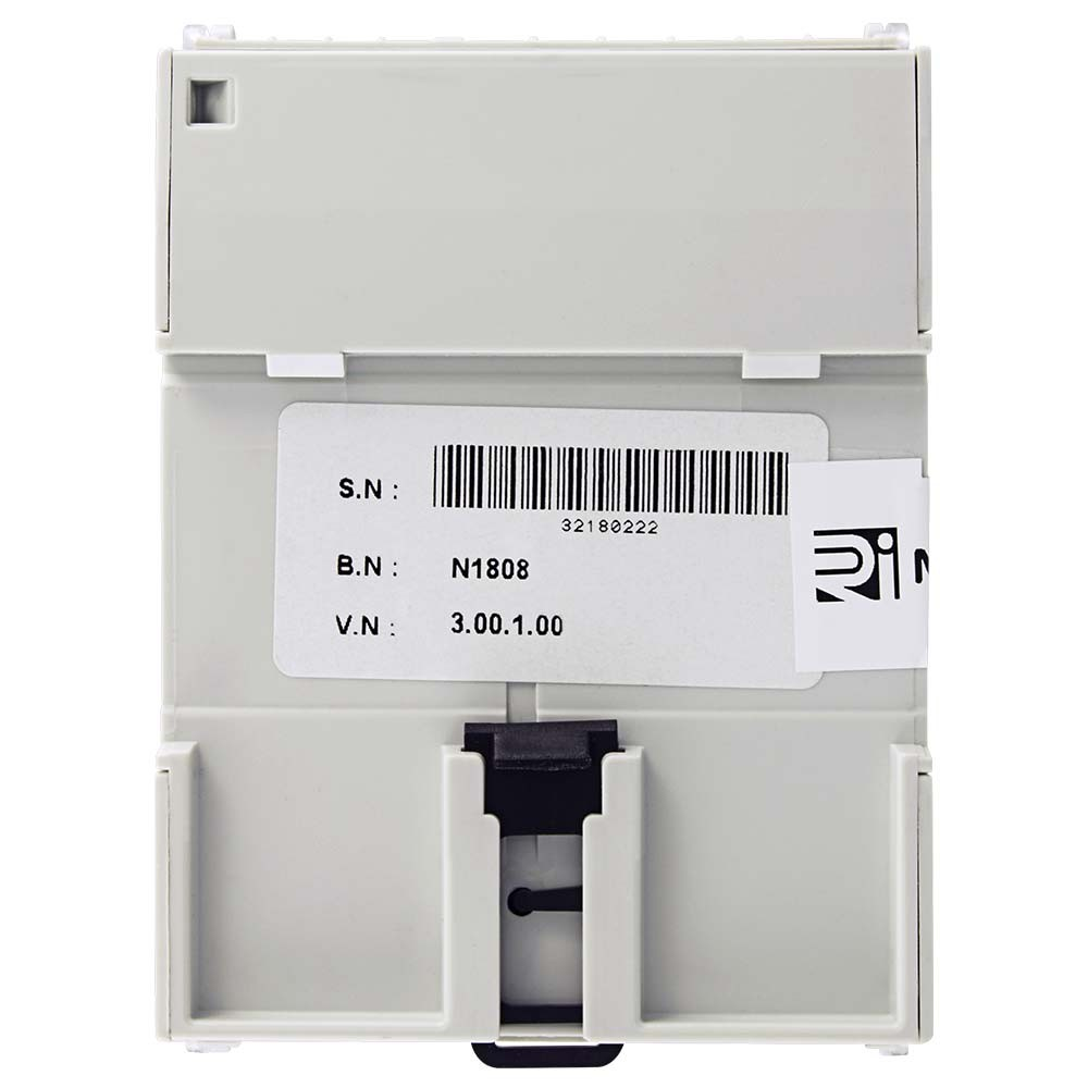 RI-D140 MID Certified Multifunction DIN Rail Meter to Rear