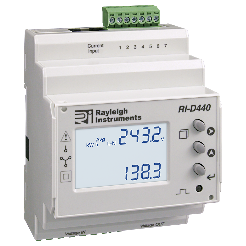 easywire DIN Rail Multifunction Meter RI-D440