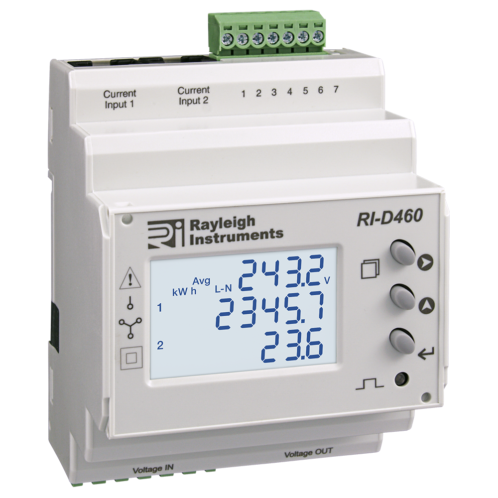 Split Load easywire DIN Rail Multifunction Meter RI-D460
