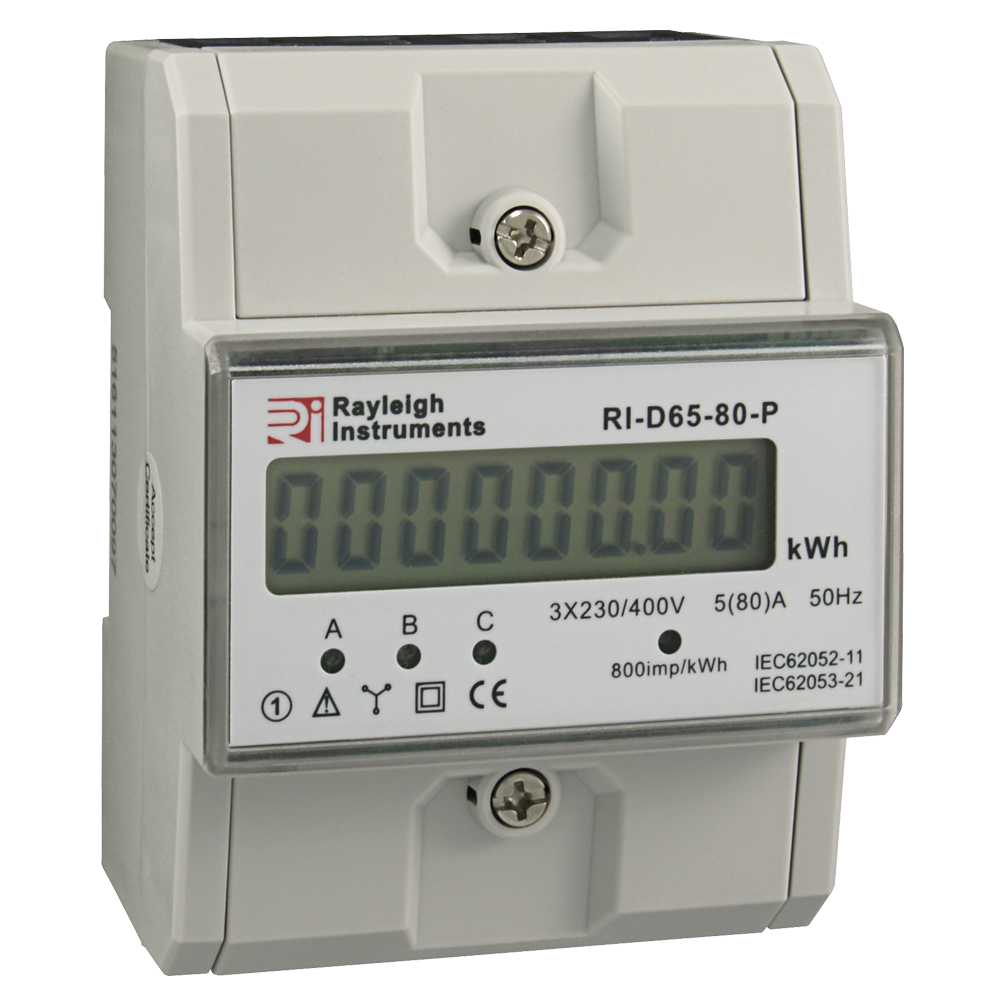 RI-D65-80-P Three Phase Energy Meter