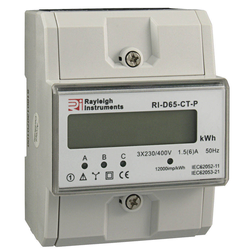 RI-D65-CT-P Three Phase Energy Meter