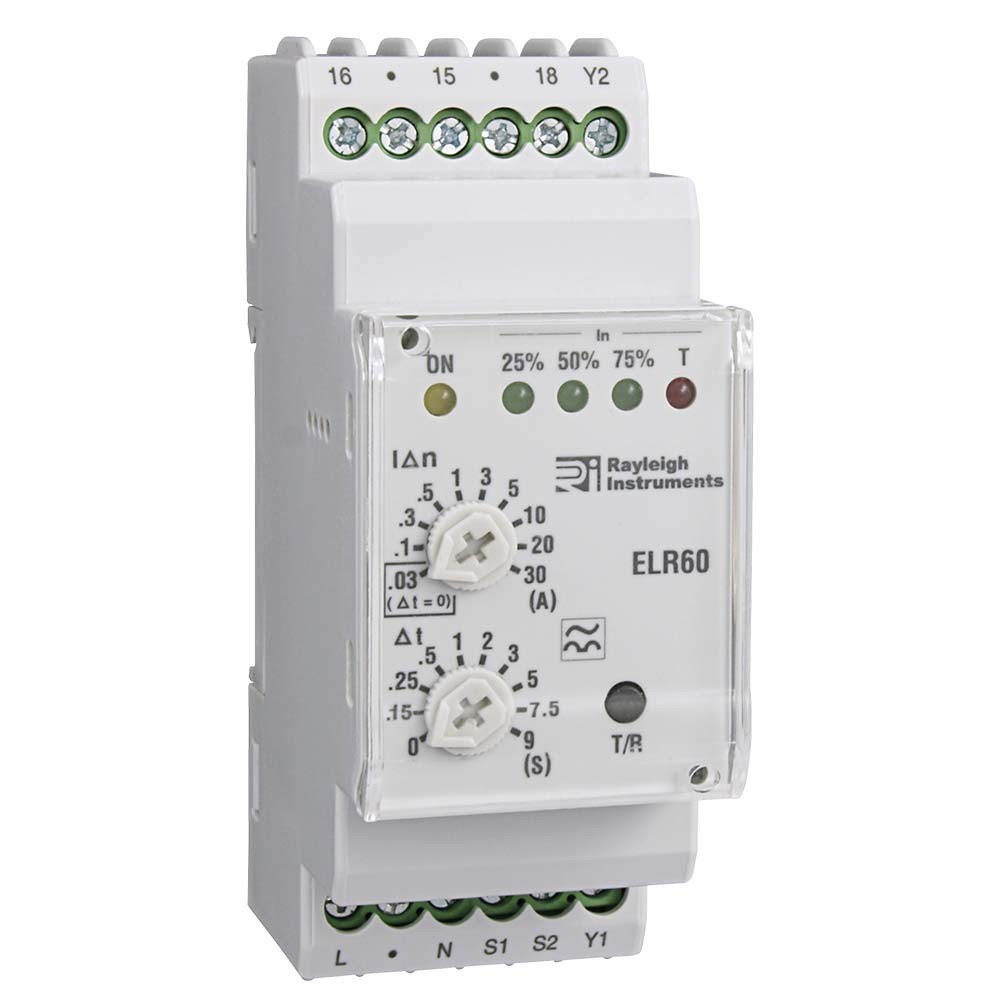 Earth Leakage Relay with Adjustable Trip - RI-ELR60
