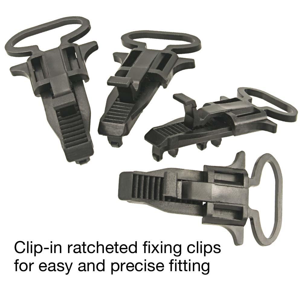 RI-F100 MID Meter fixing clips