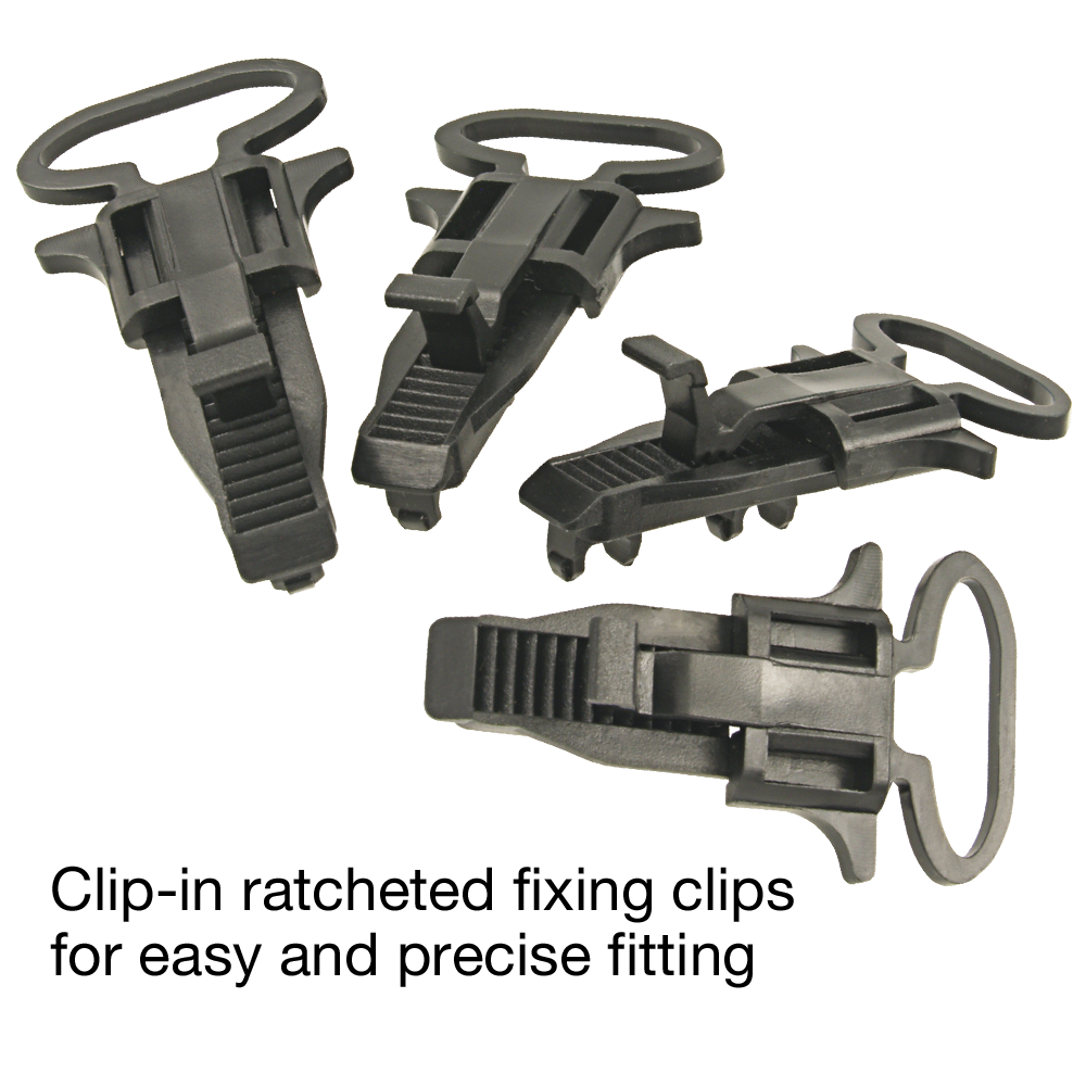 RI-F100 MID Meter fixing clips