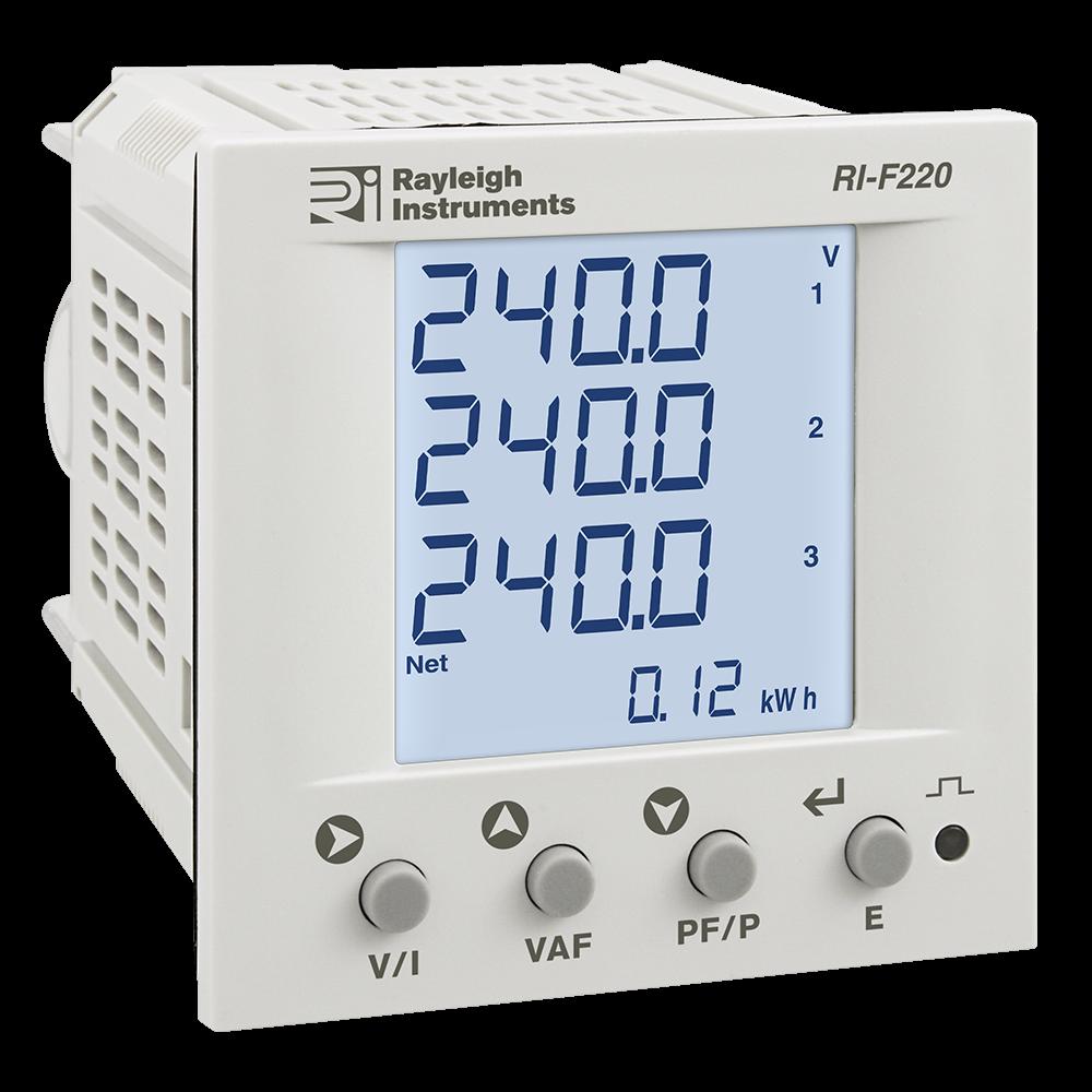 RI-F220 DIN72 Multifunction Meter