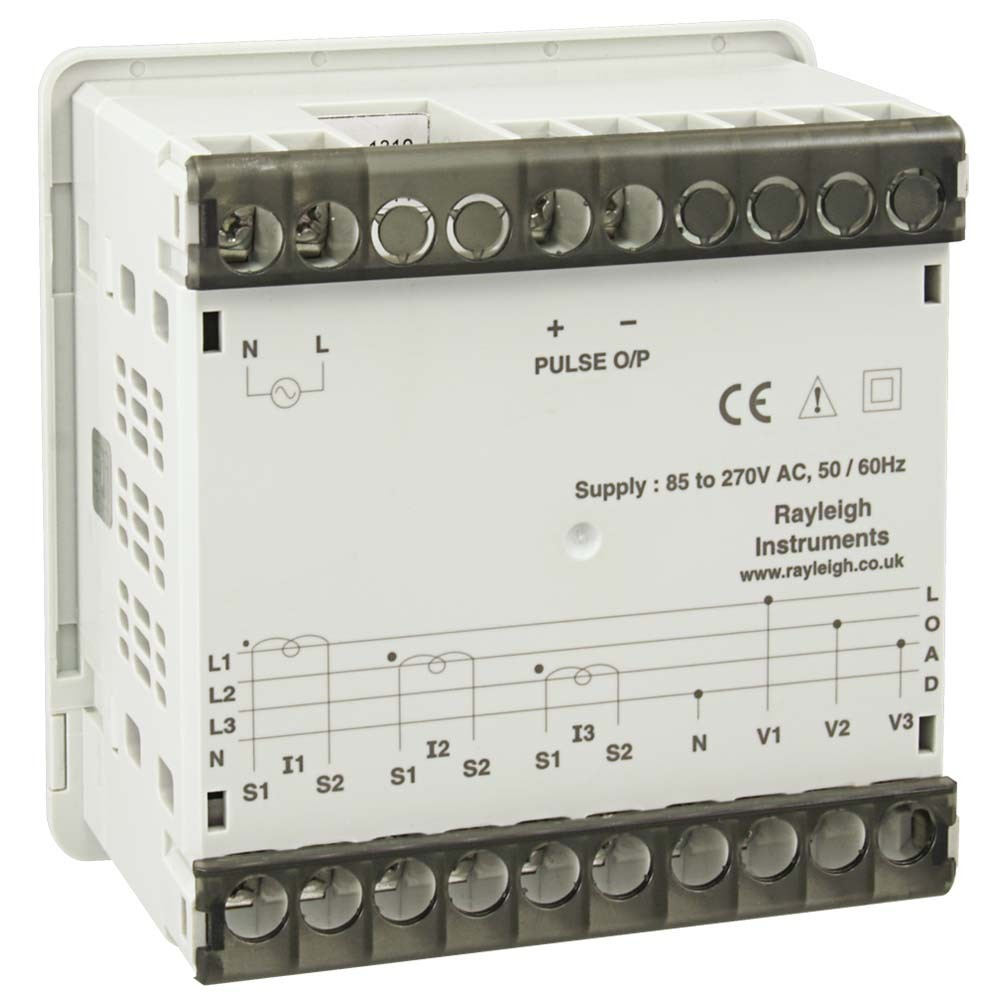 RI-368 Single Phase and Three Phase Panel Mounted kWh Pulse Meter