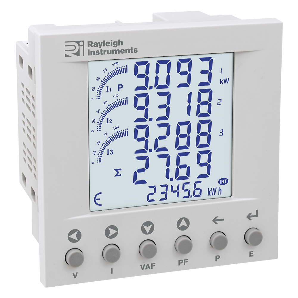 RI-F400 easywire Multifunction Meter Panel Mounting