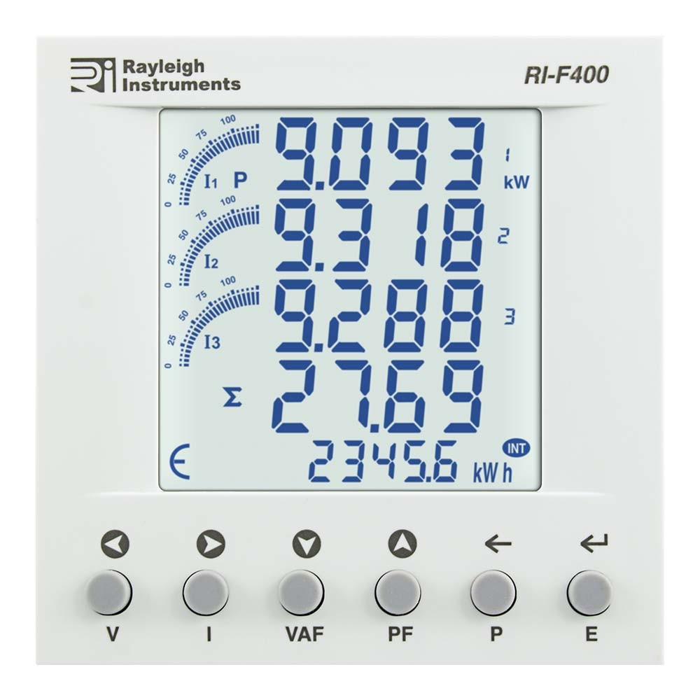 RI-F400 easywire Multifunction Meter to Front