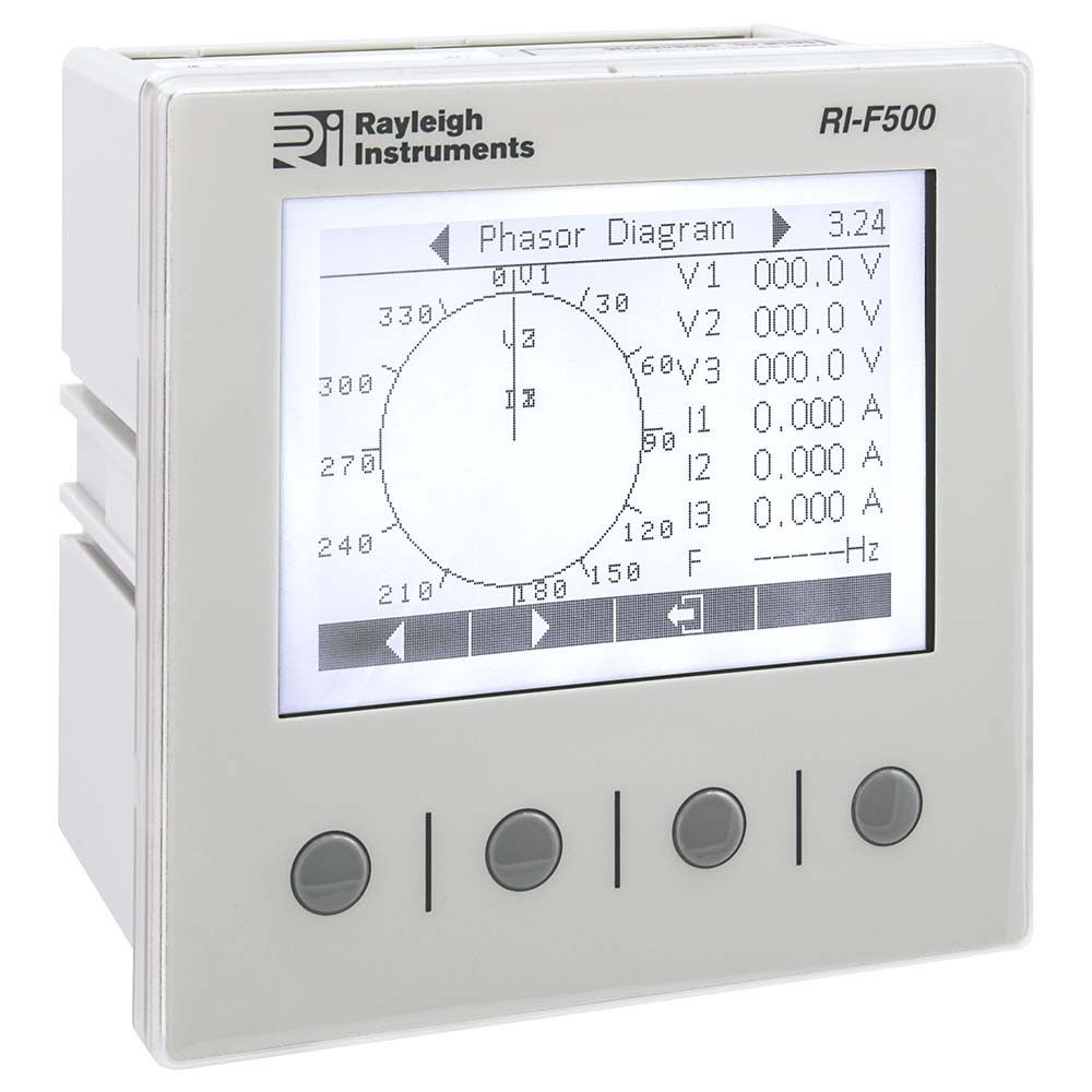 RI-F500 Multifunction Analyser - Single Phase and Three Phase