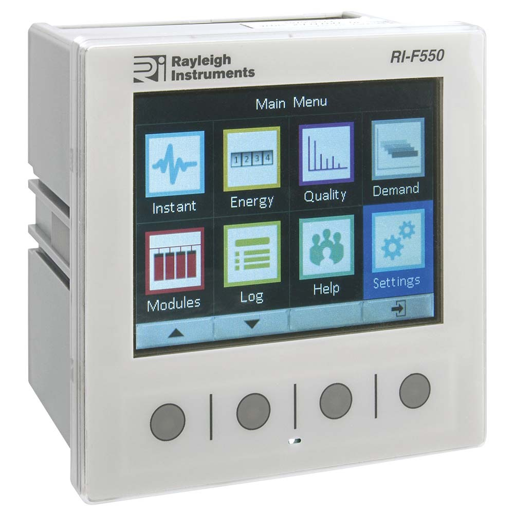 RI-F550 Multifunction Analyser - Single Phase and Three Phase
