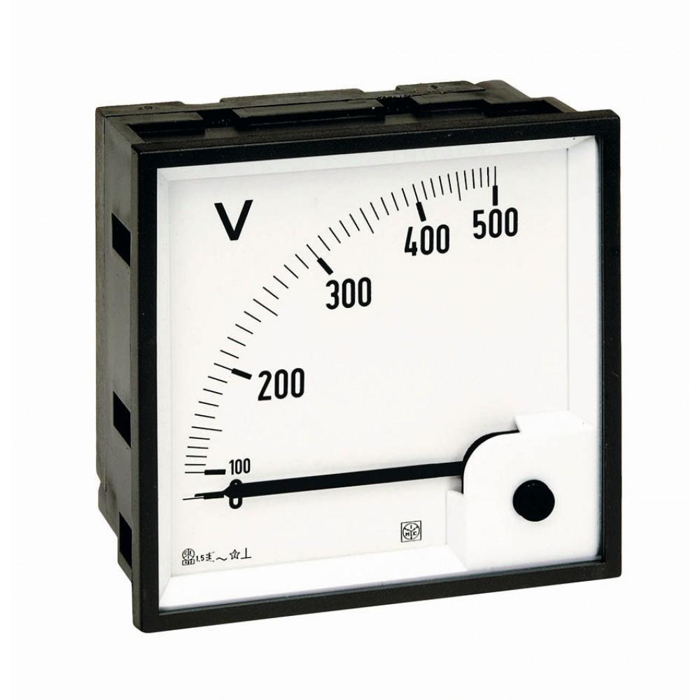 IME RQ72E Single Phase Analogue Voltmeter